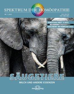 Spektrum der Homöopathie 2022-1, Milcharzneien, Narayana Verlag