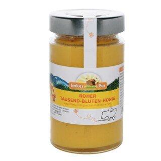Roher Tausend-Blüten-Honig - 400 g - Sonderangebot kurze Haltbarkeit 07.11.2021 - nur solange der Vorrat reicht/