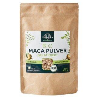 Bio Maca Pulver - gelatiniert - 300 g - von Unimedica - Sonderangebot kurze Haltbarkeit/